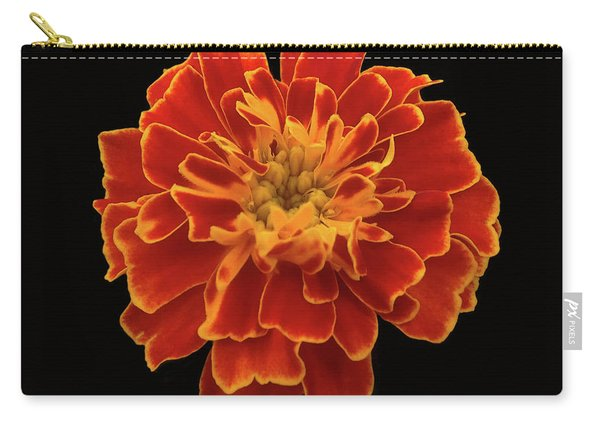 Home Grown Marigold Carry-all Pouch