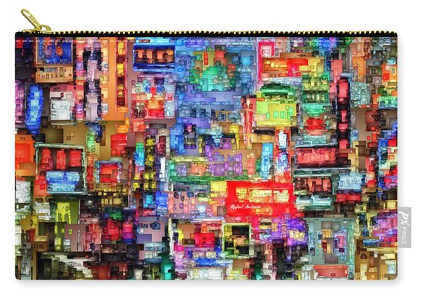 Hong Kong City Nightlife Carry-all Pouch