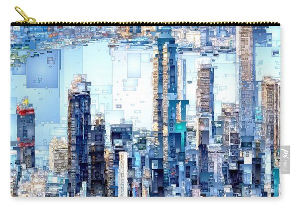Hong Kong Skyline Carry-all Pouch
