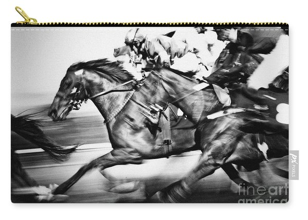 Horse Racing Carry-all Pouch