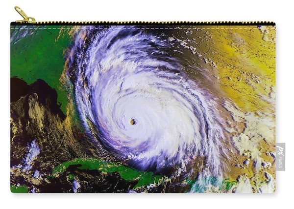 Hurricane Floyd   Carry-all Pouch