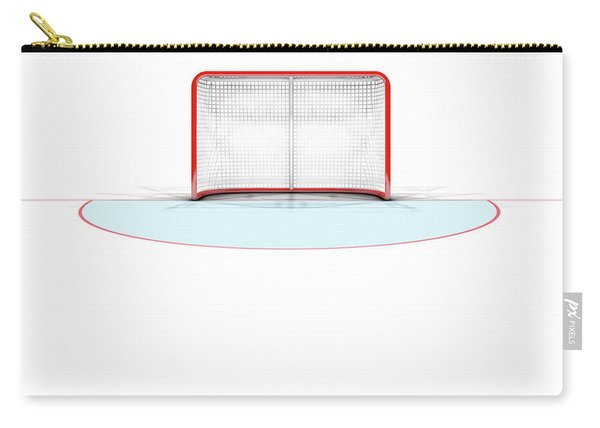 Ice Hockey Goals Carry-all Pouch