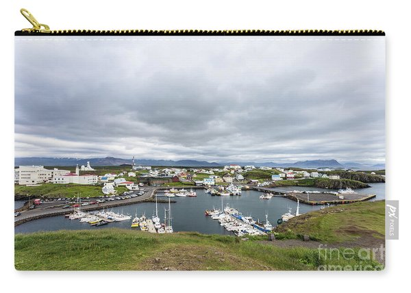 Iceland Fisherman Harbor Carry-all Pouch