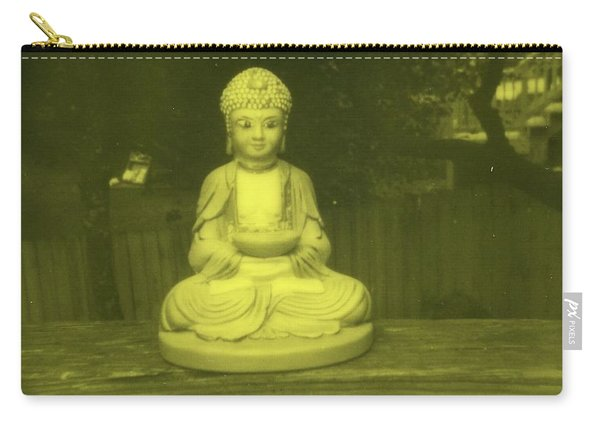 Impossible Project Third Man Records Jack White Buddha Yellow Black Carry-all Pouch