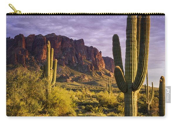 In The Desert Golden Hour  Carry-all Pouch