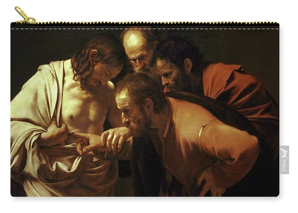 Incredulity Of Saint Thomas Carry-all Pouch