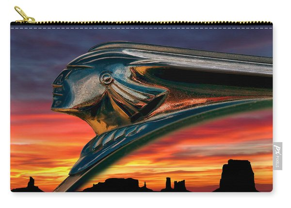 Indian Rainbow Carry-all Pouch