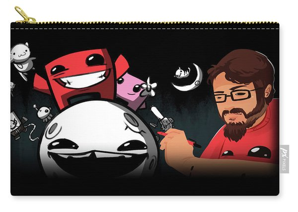 Indie Game The Movie Carry-all Pouch