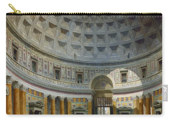 Interior Of The Pantheon, Rome Carry-all Pouch