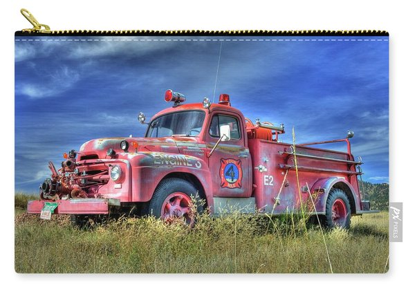 International Fire Truck 2 Carry-all Pouch