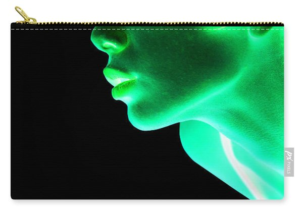 Inverted Realities - Green  Carry-all Pouch