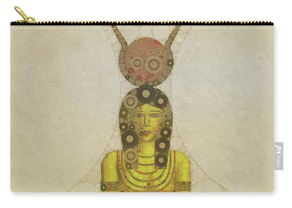 Isis, Mother Goddess Of Egypt By Mary Bassett Carry-all Pouch