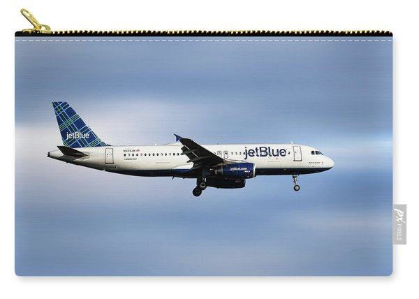 Jetblue Airways Airbus A320-232 Carry-all Pouch