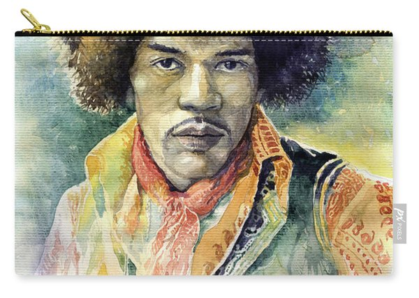 Jimi Hendrix 06 Carry-all Pouch