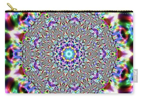 Carry-all Pouch featuring the digital art Jyoti Ahau 56 by Robert Thalmeier