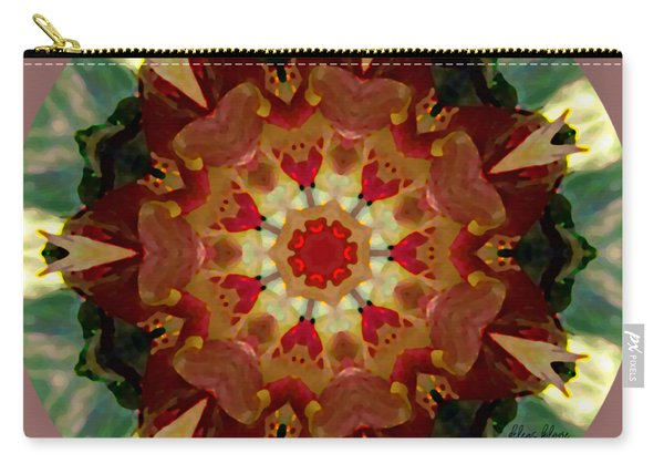 Kaleidoscope - Warm And Cool Colors Carry-all Pouch