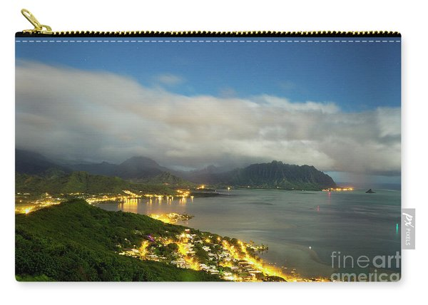 Kaneohe At Night Carry-all Pouch