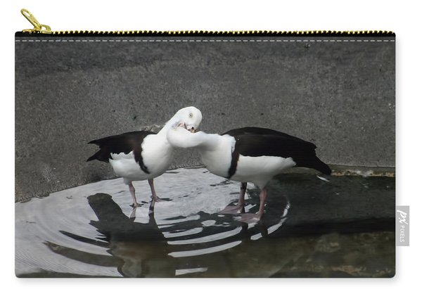 Kissing Ducks Carry-all Pouch