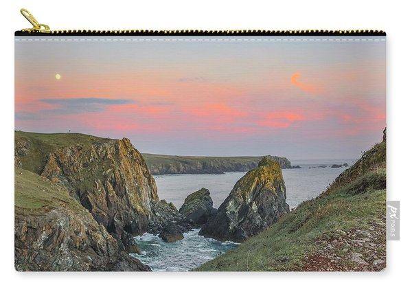 Kynance Cove At Sunset  Carry-all Pouch