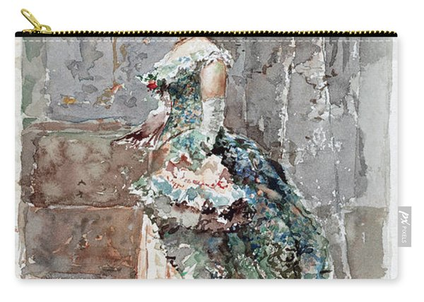 Lady In Formal Dress Carry-all Pouch