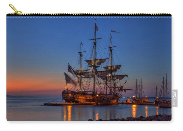 Lafayette's Hermione Voyage 2015 Carry-all Pouch