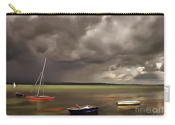 Lake Balaton Painting Carry-all Pouch