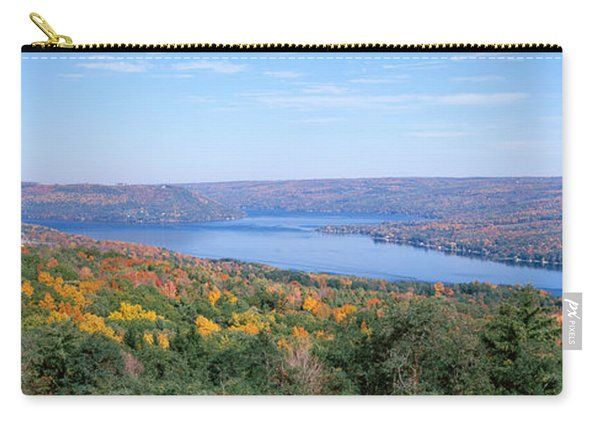 Lake Surrounded By Hills, Keuka Lake Carry-all Pouch