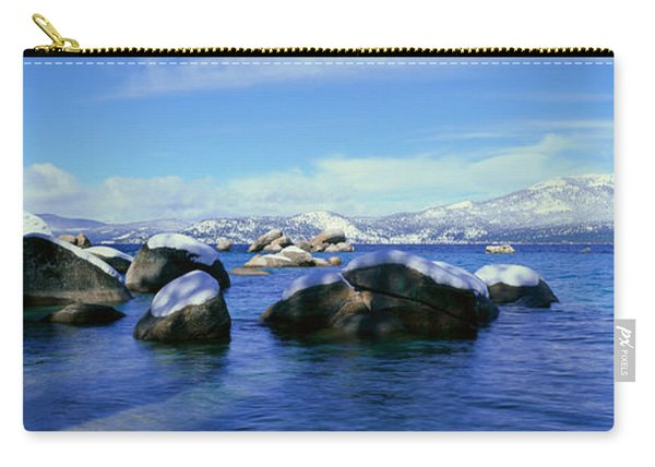 Lake Tahoe In Wintertime, Nevada Carry-all Pouch