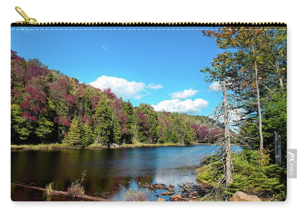 Late September On Bald Mountain Pond Carry-all Pouch