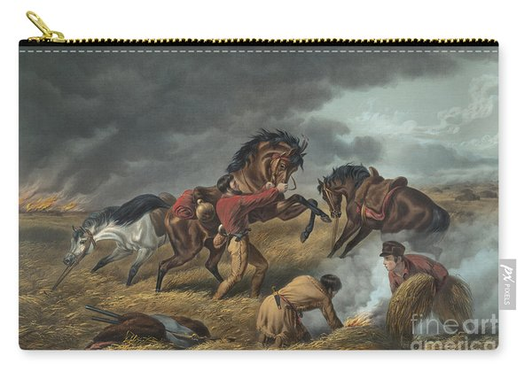 Life On The Prairie Carry-all Pouch