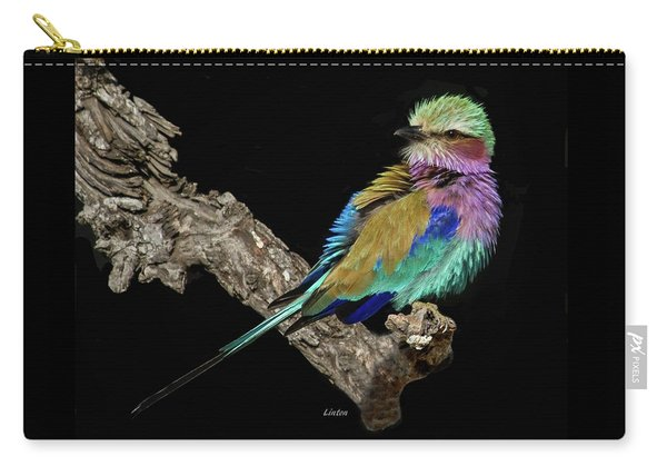 Lilac-breasted Roller Carry-all Pouch