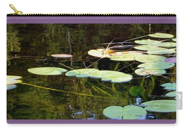 Lily Pads On The Lake Carry-all Pouch