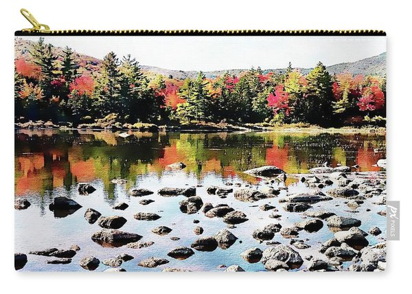 Lily Pond, Kancamagus Highway - New Hampshire  Carry-all Pouch