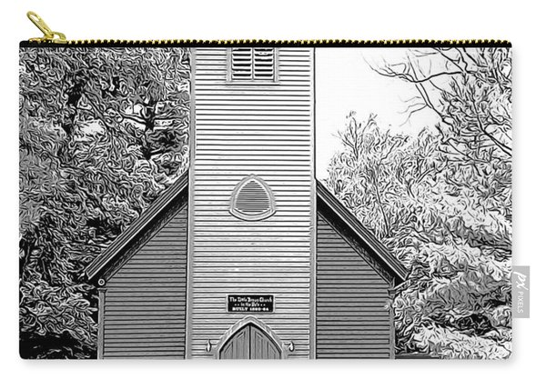 Little Brown Church Carry-all Pouch