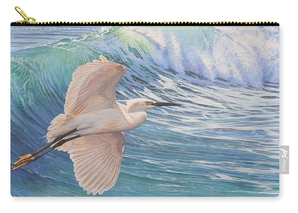 Little Egret Carry-all Pouch