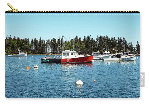 Lobster By Night - Sleep By Day, Camden, Maine Carry-all Pouch