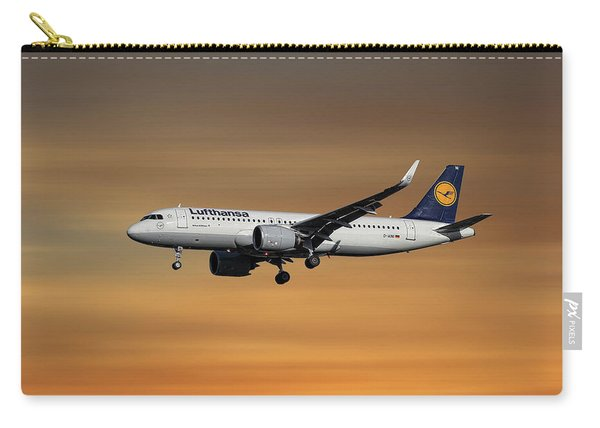 Lufthansa Airbus A320-271n Carry-all Pouch