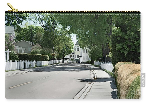 Mackinac Island Street  Carry-all Pouch