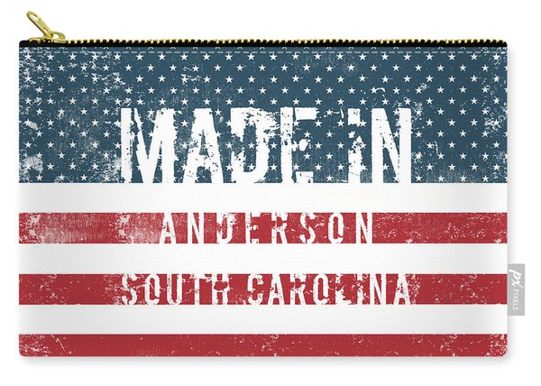 Made In Anderson, South Carolina Carry-all Pouch