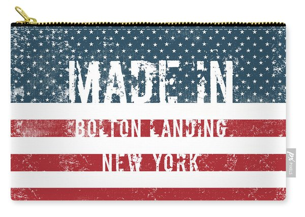 Made In Bolton Landing, New York Carry-all Pouch