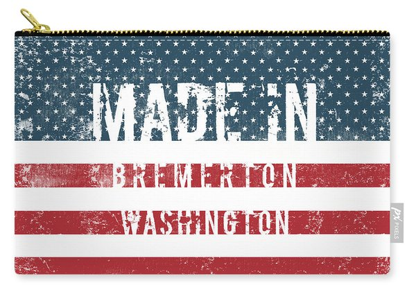 Made In Bremerton, Washington Carry-all Pouch