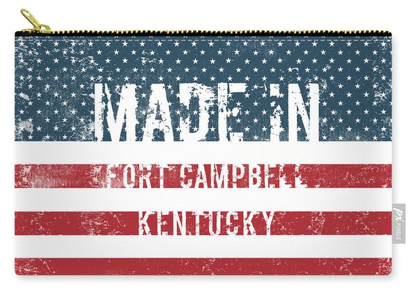Made In Fort Campbell, Kentucky Carry-all Pouch