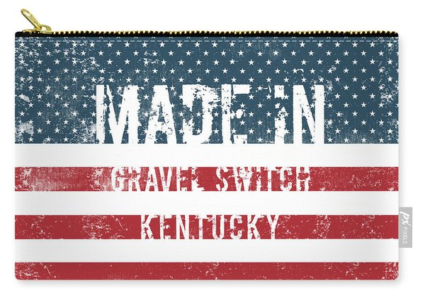 Made In Gravel Switch, Kentucky Carry-all Pouch