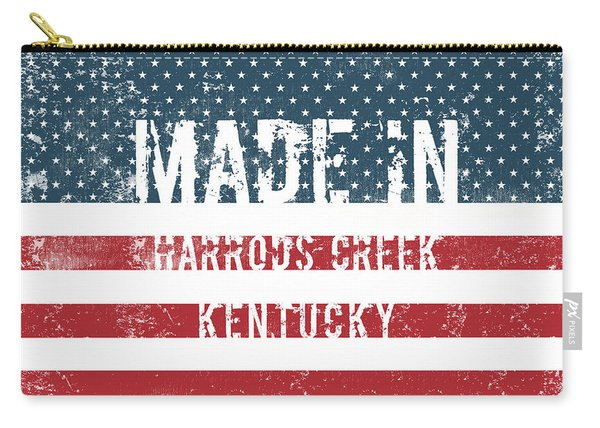 Made In Harrods Creek, Kentucky Carry-all Pouch