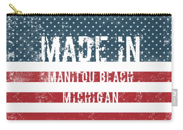 Made In Manitou Beach, Michigan Carry-all Pouch