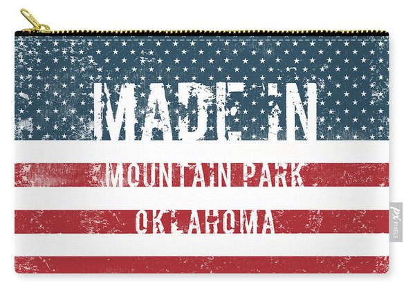 Made In Mountain Park, Oklahoma Carry-all Pouch
