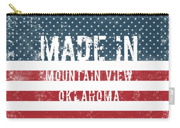 Made In Mountain View, Oklahoma Carry-all Pouch