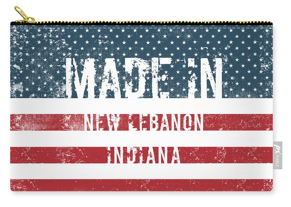 Made In New Lebanon, Indiana Carry-all Pouch