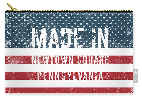 Made In Newtown Square, Pennsylvania Carry-all Pouch