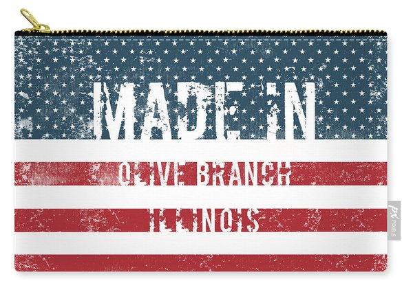 Made In Olive Branch, Illinois Carry-all Pouch